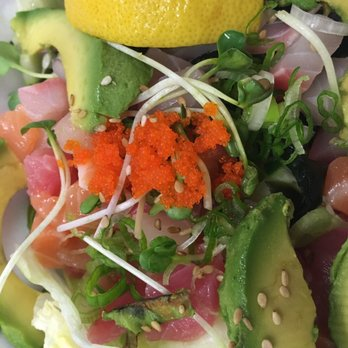 Photo Of At Home Kitchen Gardena Ca United States Avocado And Poke