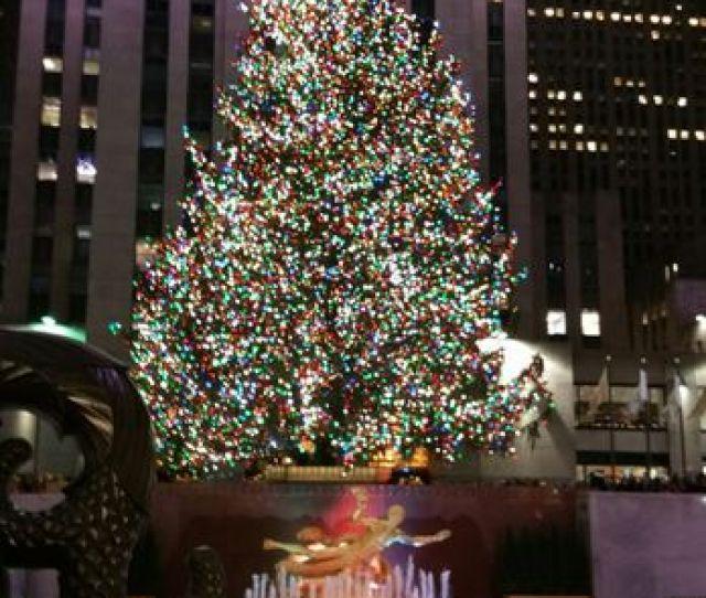Photo Of Rockefeller Center Christmas Tree New York Ny United States