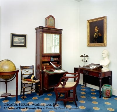 Decatur House parlor with Stephen Decatur s furniture  The interior     Photo of Decatur House   Washington  DC  United States  Decatur House  parlor with