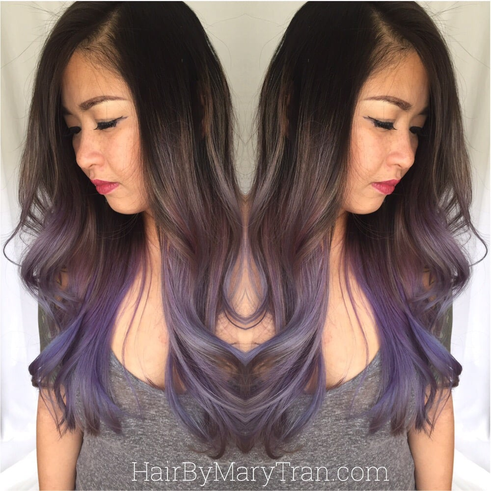 Ombre For Asian Hair Hair Color Ideas And Styles For 2018
