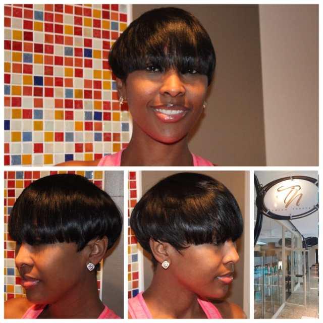 short hair cut atlanta - kim calhoun - yelp