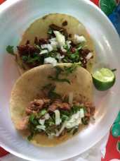 Photo of El Cabrito Taqueria - Haines City, FL, United States. Taco al pastor y carnitas