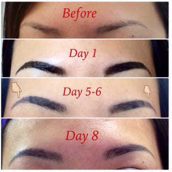 perfection 3d eyebrows 85 photos 68 reviews makeup artists 1836 lawton st outer sunset