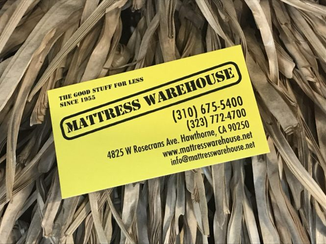 Our Motto Since 1955 The Good Stuff For Less 310 675 5400 Call Excellent Mattress Warehouse Pricing Located South Bay Hawthorne Yelp