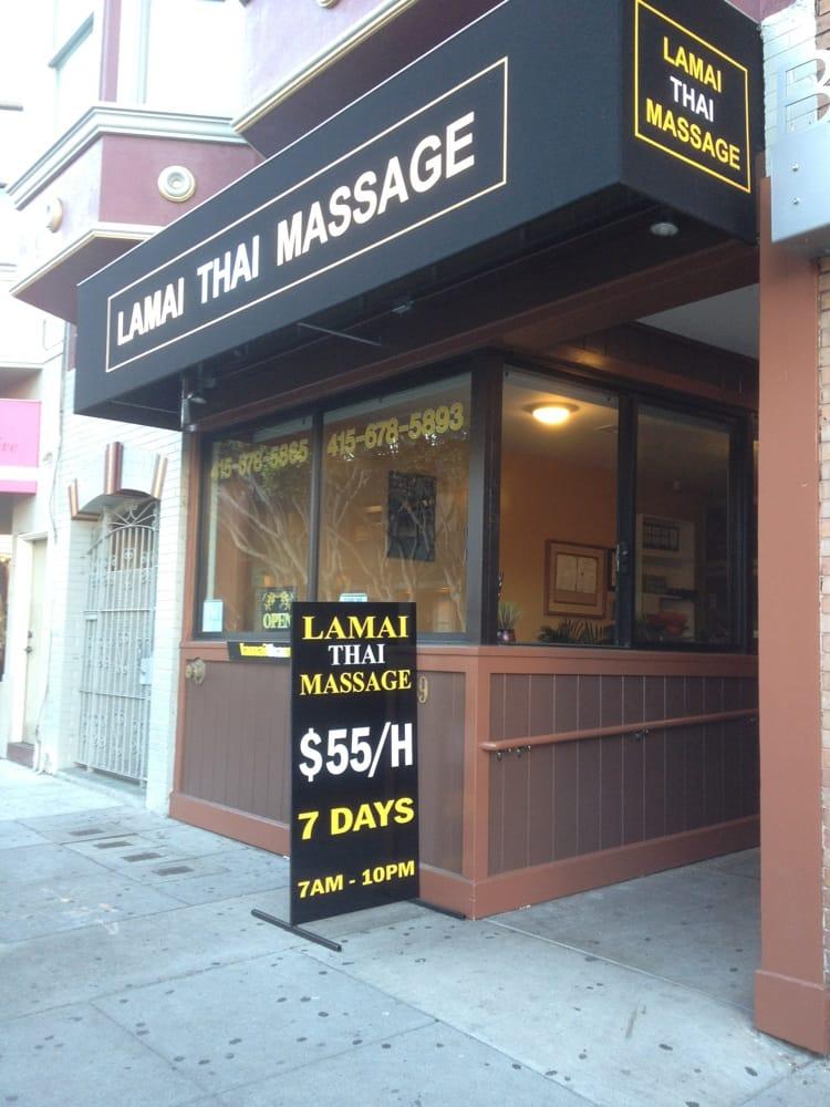 Lamai Thai Massage CLOSED 61 Reviews Massage 3259 Pierce St MarinaCow Hollow San