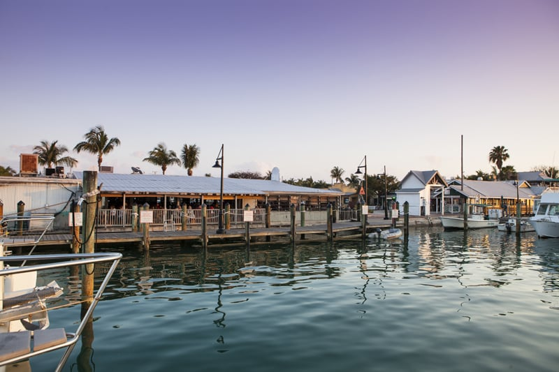 Half Shell Raw Bar - Key West, FL, United States. From The Marina