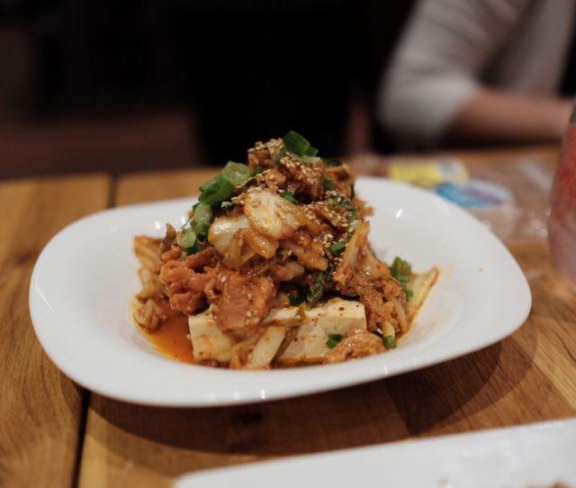 Photo Of Umamiya Shabu Shabu Honolulu Hi United States Kimchi Pork Belly