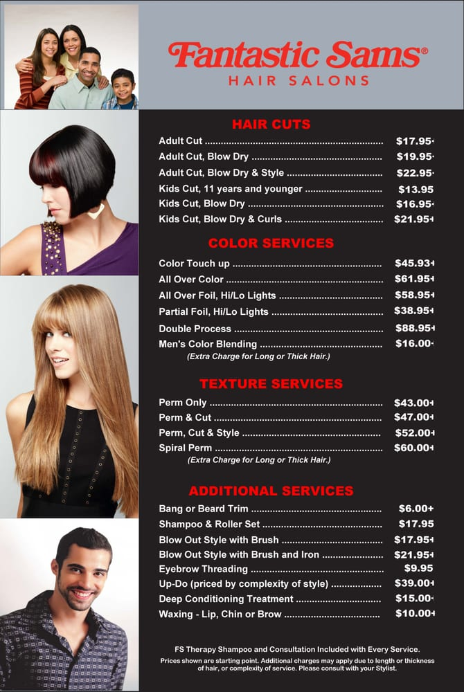 Fantastic Sams 56 Photos Amp 40 Reviews Hair Salons