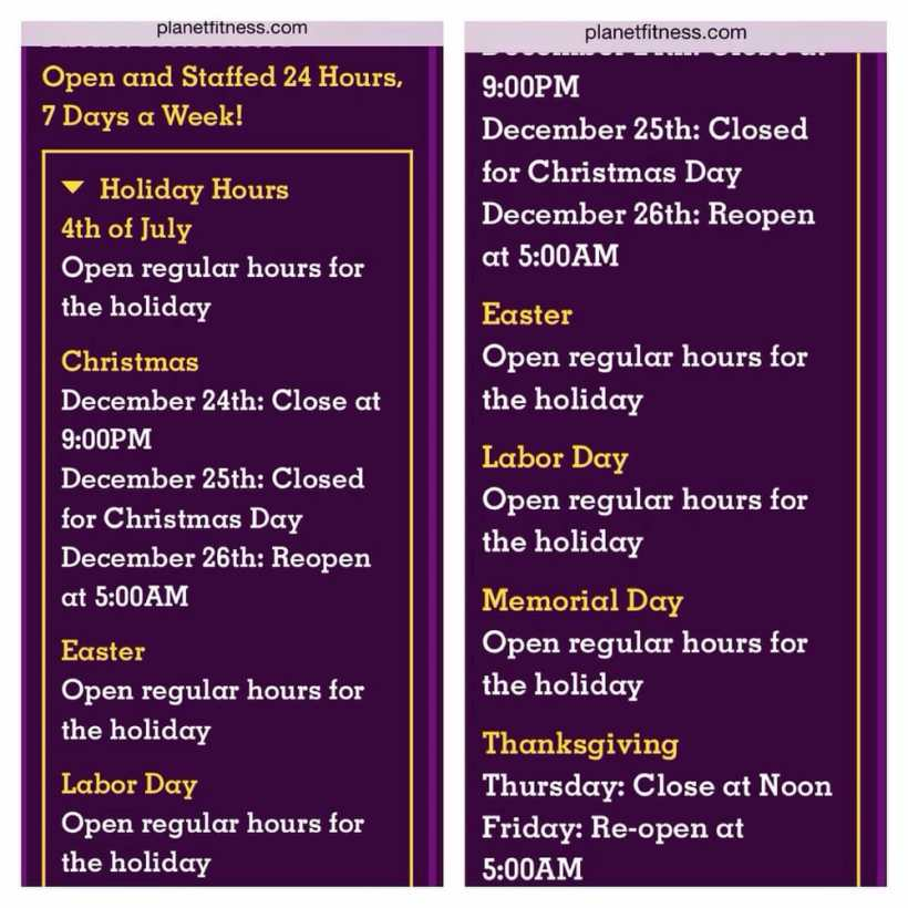 What Are Planet Fitness Hours On New Years Day ...