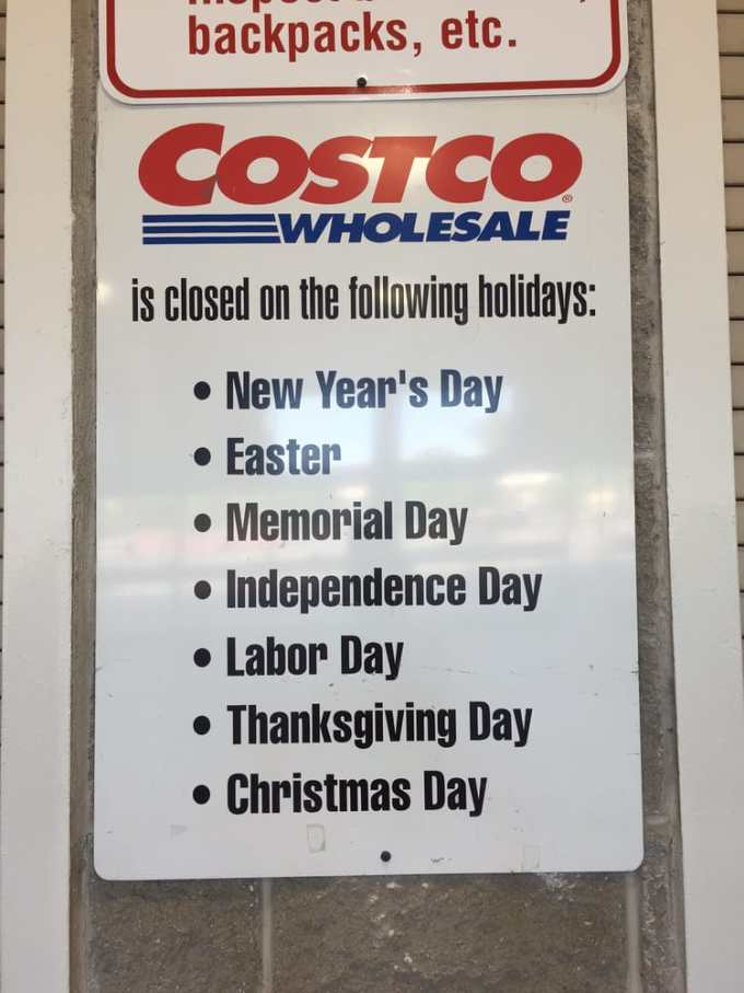costco observed holidays yelp - Is Costco Open On Christmas Day
