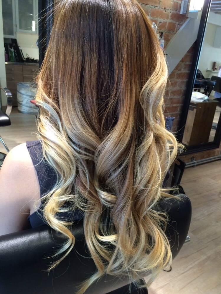 Cool Tone Blonde Ombrebalayage Yelp