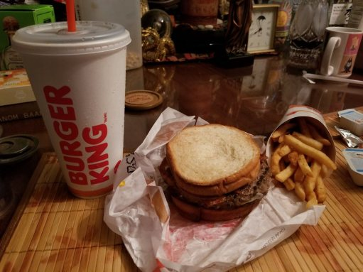 Photo of Burger King - Burbank, CA, United States. Got the new sourdough king that had bacon and swiss cheese and made it into a meal
