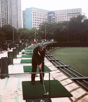 Plenty of breathing room with 2 floors worth of driving range spaces     Photo of Diversey Driving Range   Chicago  IL  United States  Plenty of  breathing