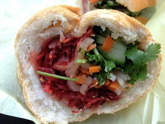 Banh Mi Ba Le BBQ Pork Sandwich Yelp