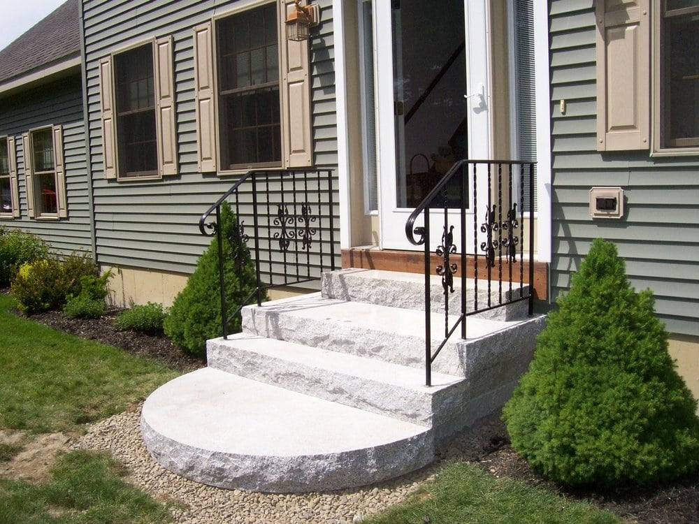 Wrought Iron Railings Handrails In Granite Steps Yelp | Wrought Iron Handrails Near Me