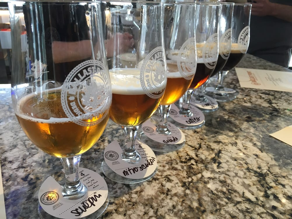 Ballast Point - Temecula - Temecula, CA, United States. Tasting flights