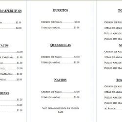 Latin Flavor Cafe Buford United States Menu