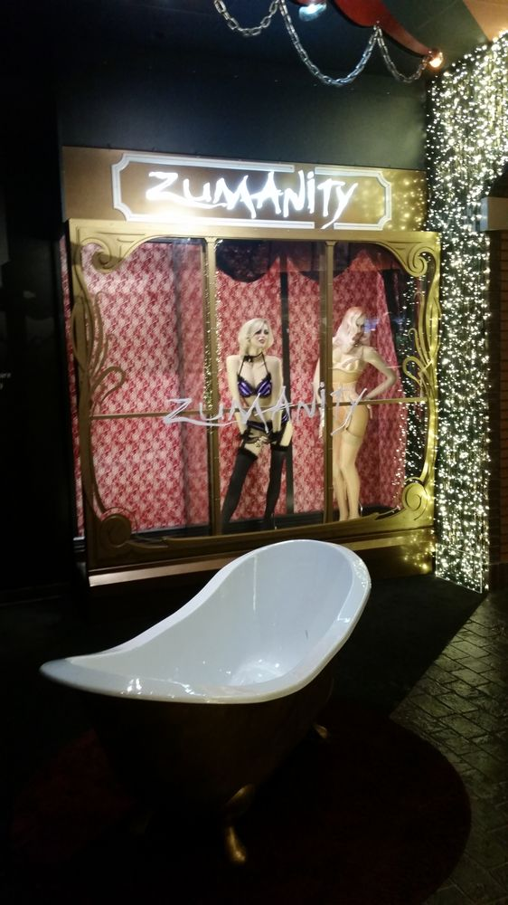 Just Outside Of The Zumanity Theater You Gotta See It To
