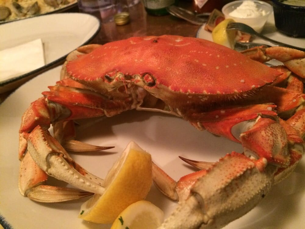 Norma's Seafood & Steak - Seaside, OR, United States. My crab. It was fine.