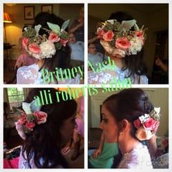 Photo Of Alli Roberts Salon Conyers Ga United States Bridal Hair Britney