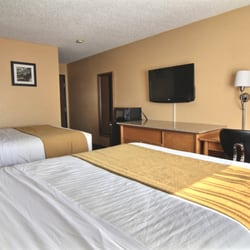 Photo Of Quality Inn Hall Fame Canton Oh United States Room