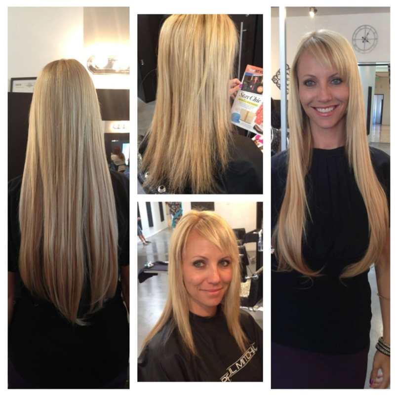 Hot Head Hair Extensions Before And After Zieview