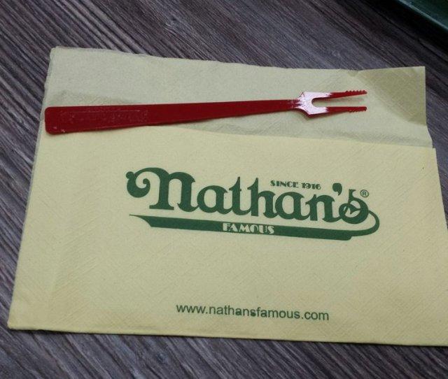 Photo Of Nathans Famous Carson City Nv United States A Nathans Napkin