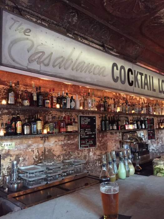 Photo of Casablanca Cocktail Lounge - Brooklyn, NY, United States. Casablanca sign
