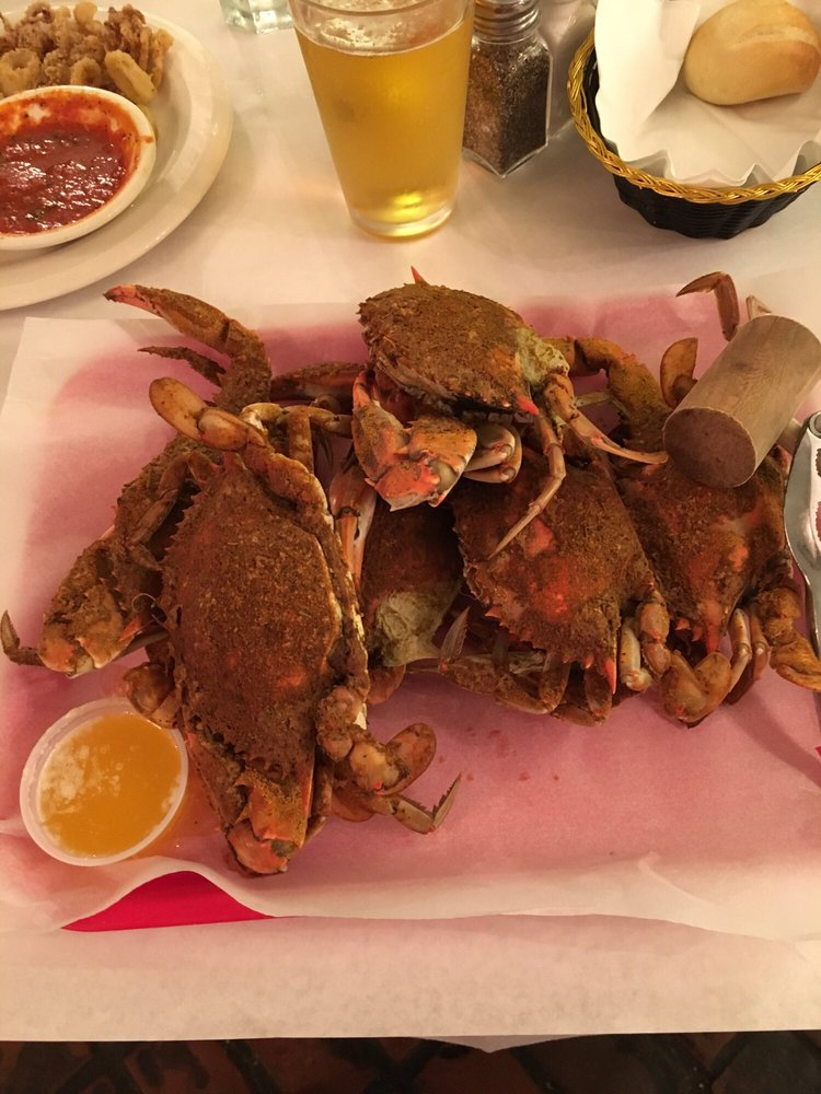 Photo of Angie's Seafood - Baltimore, MD, United States. Yummy 1/2 dz mediums