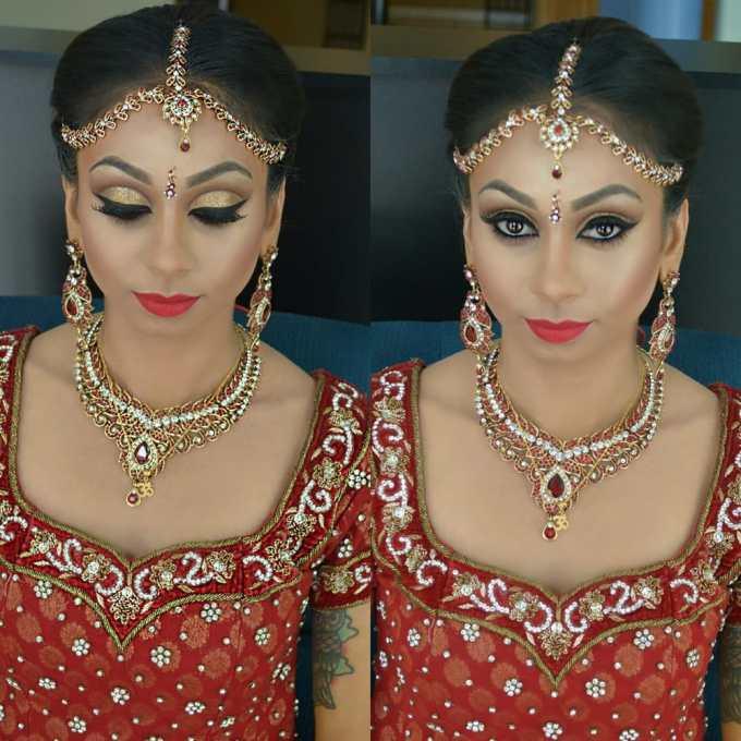 indian wedding make up & hair - yelp