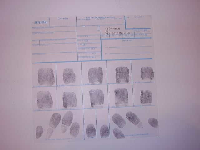 Fbi Fingerprint Card Fd 258 Instructions Poemview