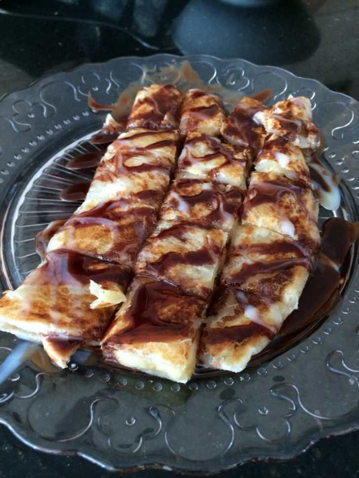 Moh Kitchen Milpitas United States Banana Roti