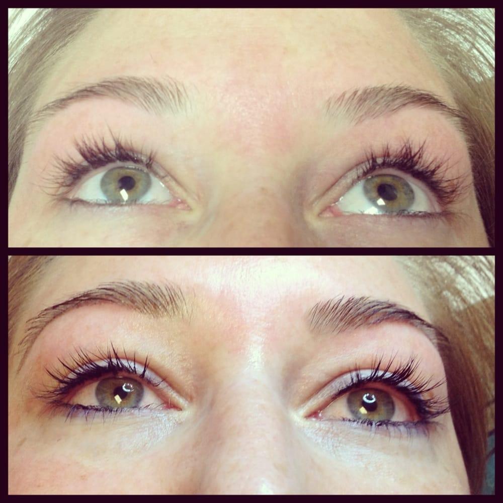 Eyebrow And Eyelash Tinting Darker Lashes Looks Liked You
