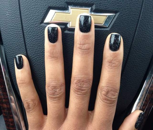 Photo Of C K Nails Austin Tx United States Black Shellac