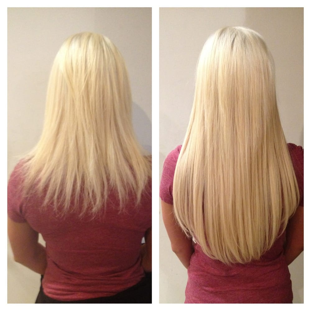 Microlink Individual Hair Extensions Platinum Blonde Yelp