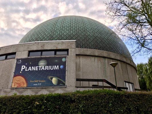 Afbeeldingsresultaat voor bruxelles planétarium