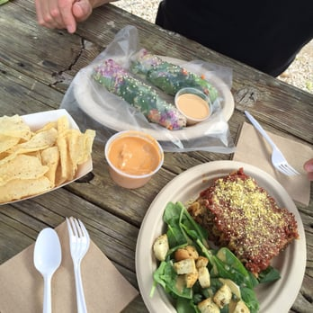 Unity Vegan Kitchen Austin United States Great Lunch Queso