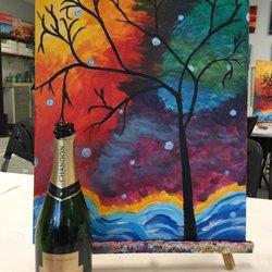 Pinot Picasso Interactive Art Studio Team Building Private