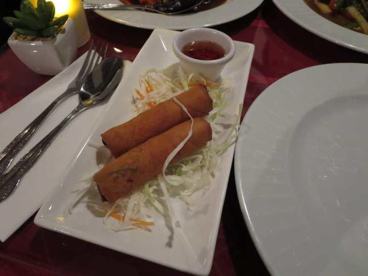 Thai Corner Kitchen Greensboro United States Crispy
