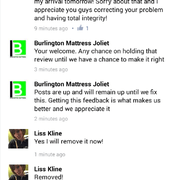 Lisa Had An Even Photo Of Burlington Mattress Joliet Il United States They Must Not Want