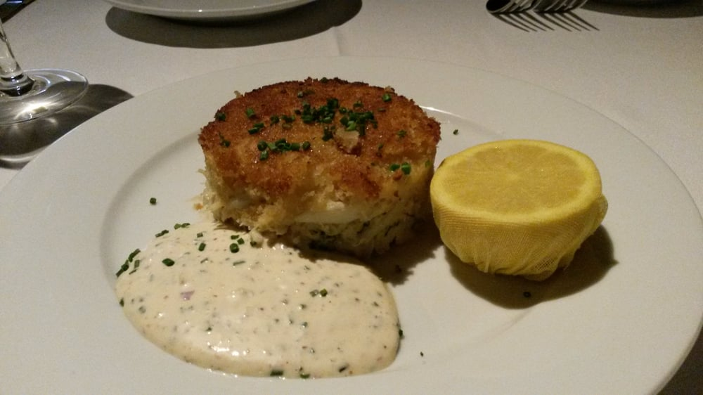 Image result for jumbo lump crab cake eddie v's