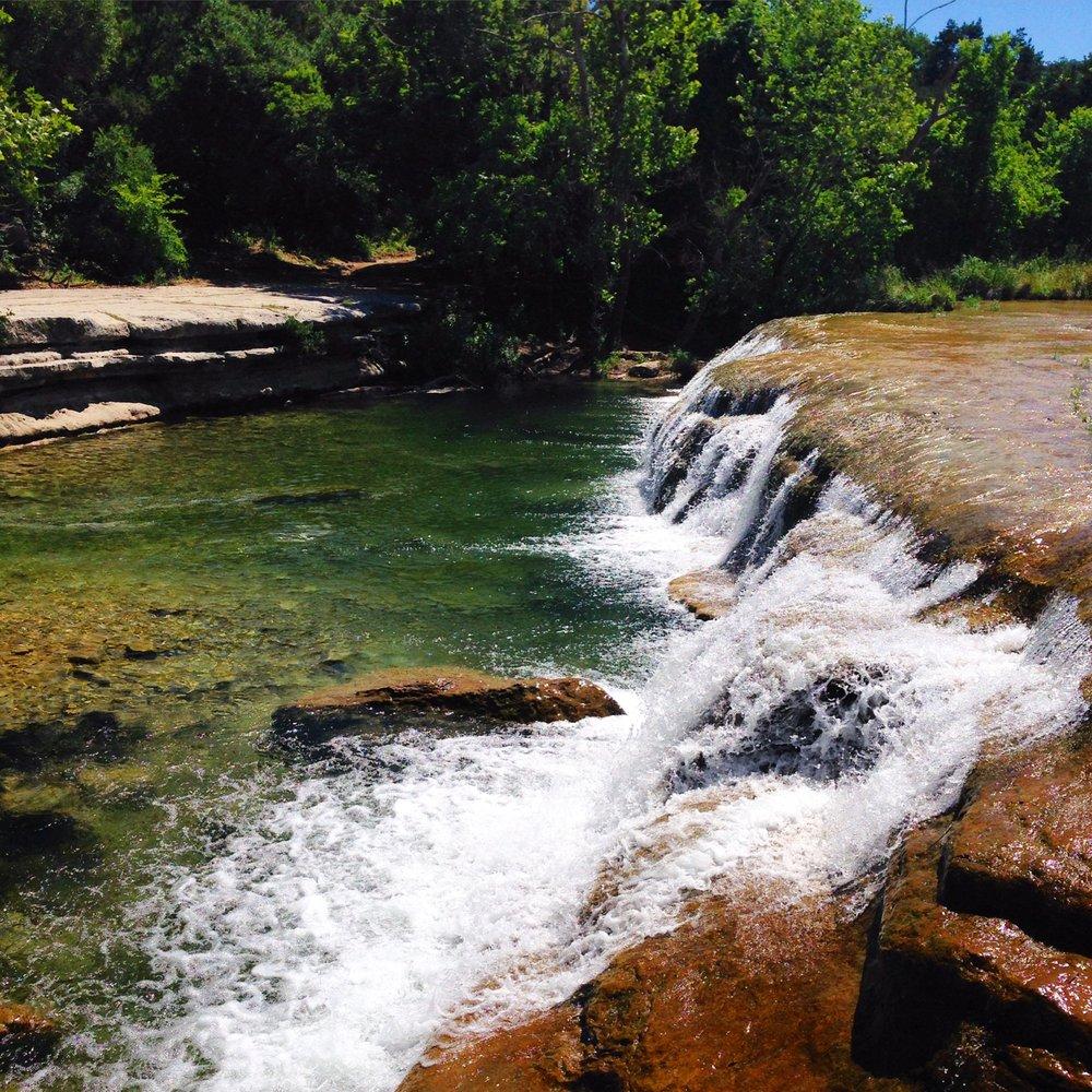 Waterfall at Bull Creek Greenbelt Upper