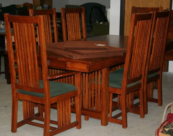 Amish Made Michaels Furniture Company Large Heavy Quality