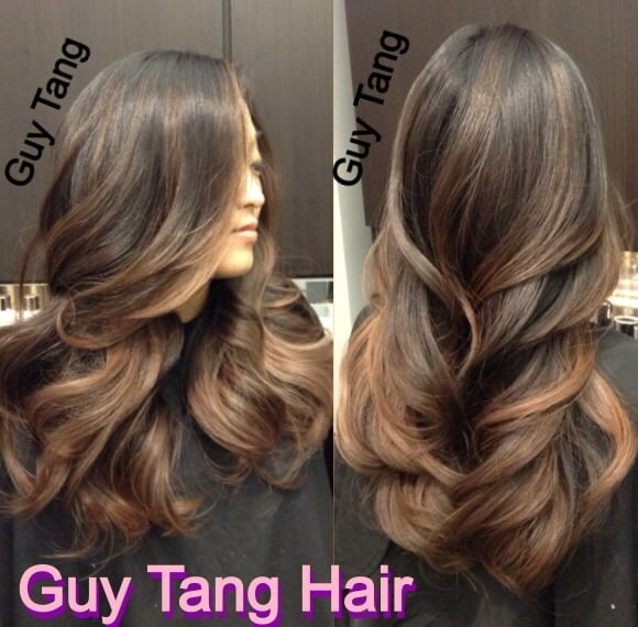 Natural Ombr On Dark Hair By Guy Tang Yelp