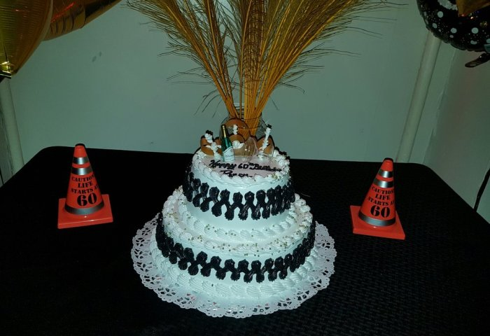 60th Birthday Cake For My Dad Looked Great And Was Yummy Yelp