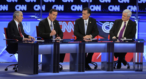 Image result for 2012 republican primary debates