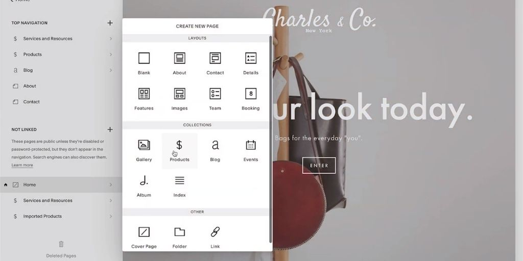 Start an Online Store with Squarespace Shop