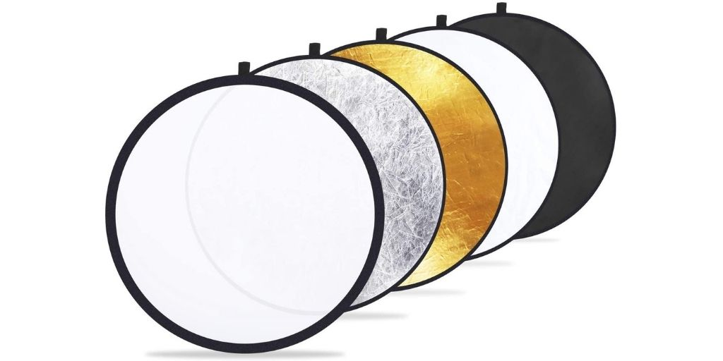 Colors in Reflectors for Photography