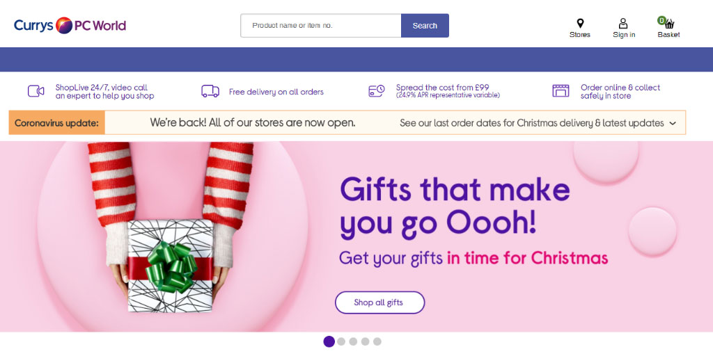 eCommerce websites in the UK