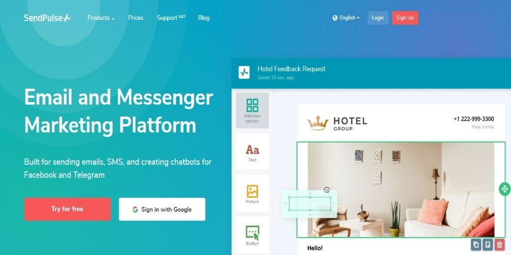 SendPulse Web Push eCommerce WordPress Plugins